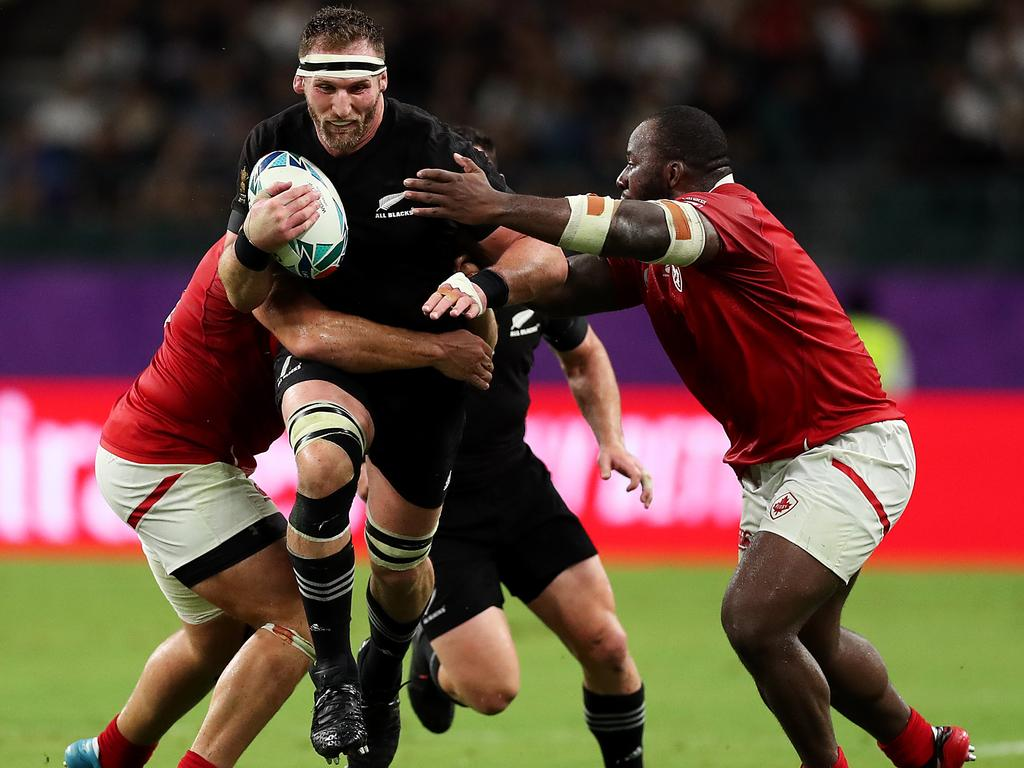 Kieran Read was cleared to play against Canada.