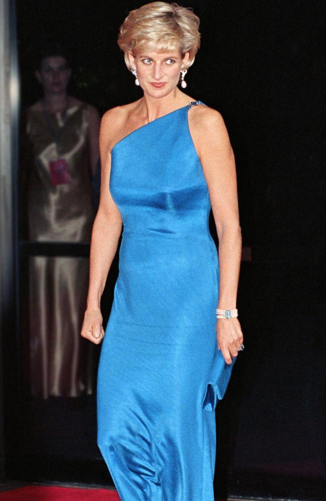 Diana, Princess Of Wales, at the Victor Chang Research Institute dinner in Sydney. Picture: Julian Parker/UK Press via Getty Images.