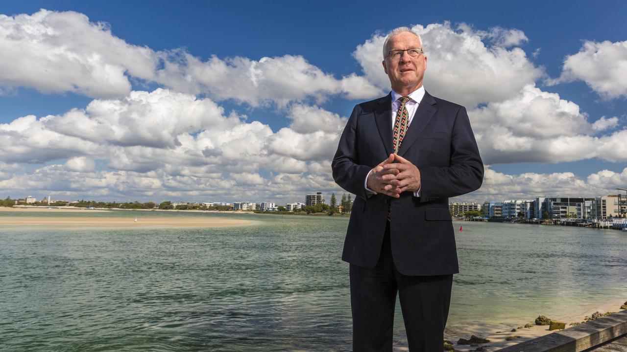 Sunshine Coast Mayor Mark Jamieson at Caloundra. Photo: Glenn Hunt