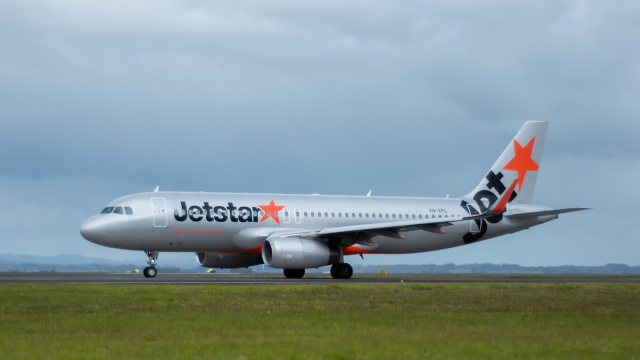 A Jetstar passenger has opened up about her stinky experience with the airline after a staff member told her to put her baby's dirty nappy at her feet. Picture: iStock.