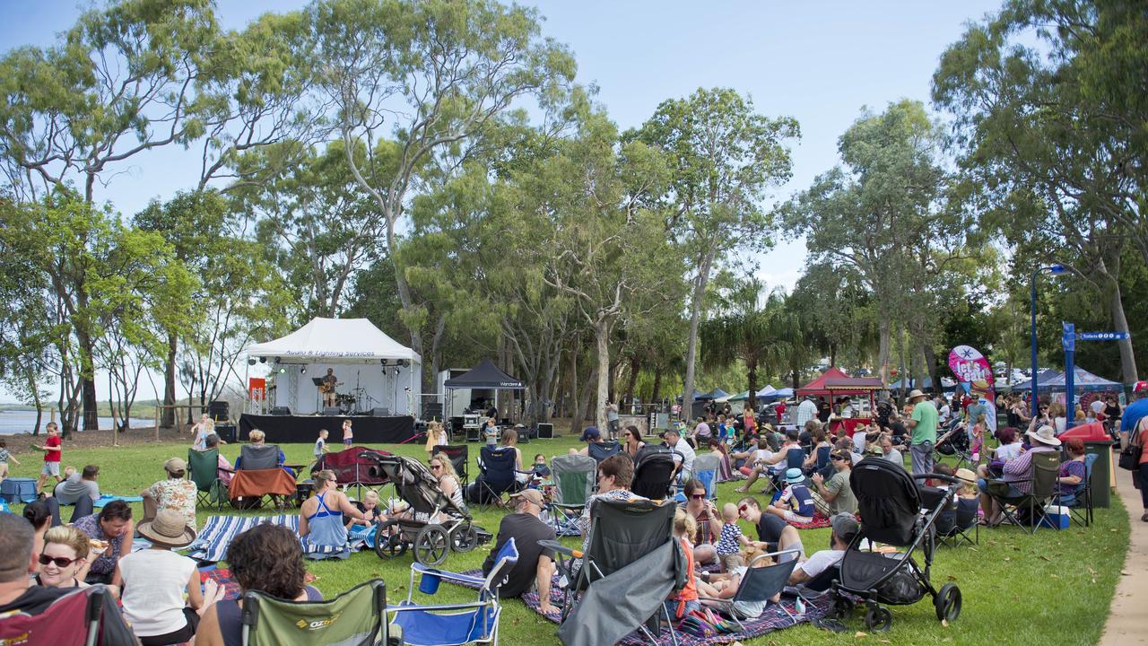 Tannum Sands Beach Arts and Music festival.