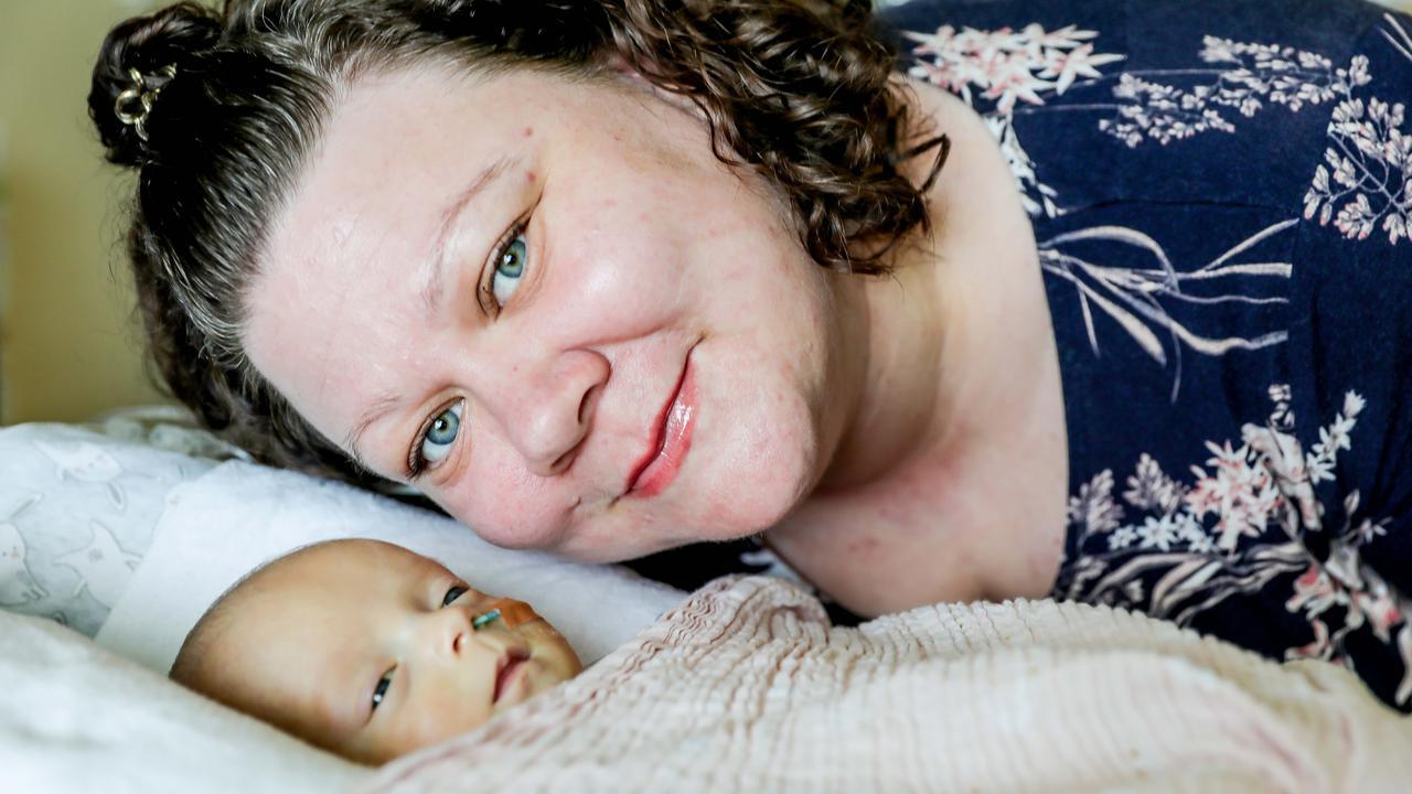Premature Baby and Mum