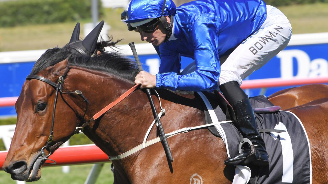 Osborne Bulls could secure a slot in The Everest with a victory in the Premiere Stakes. Picture: AAP