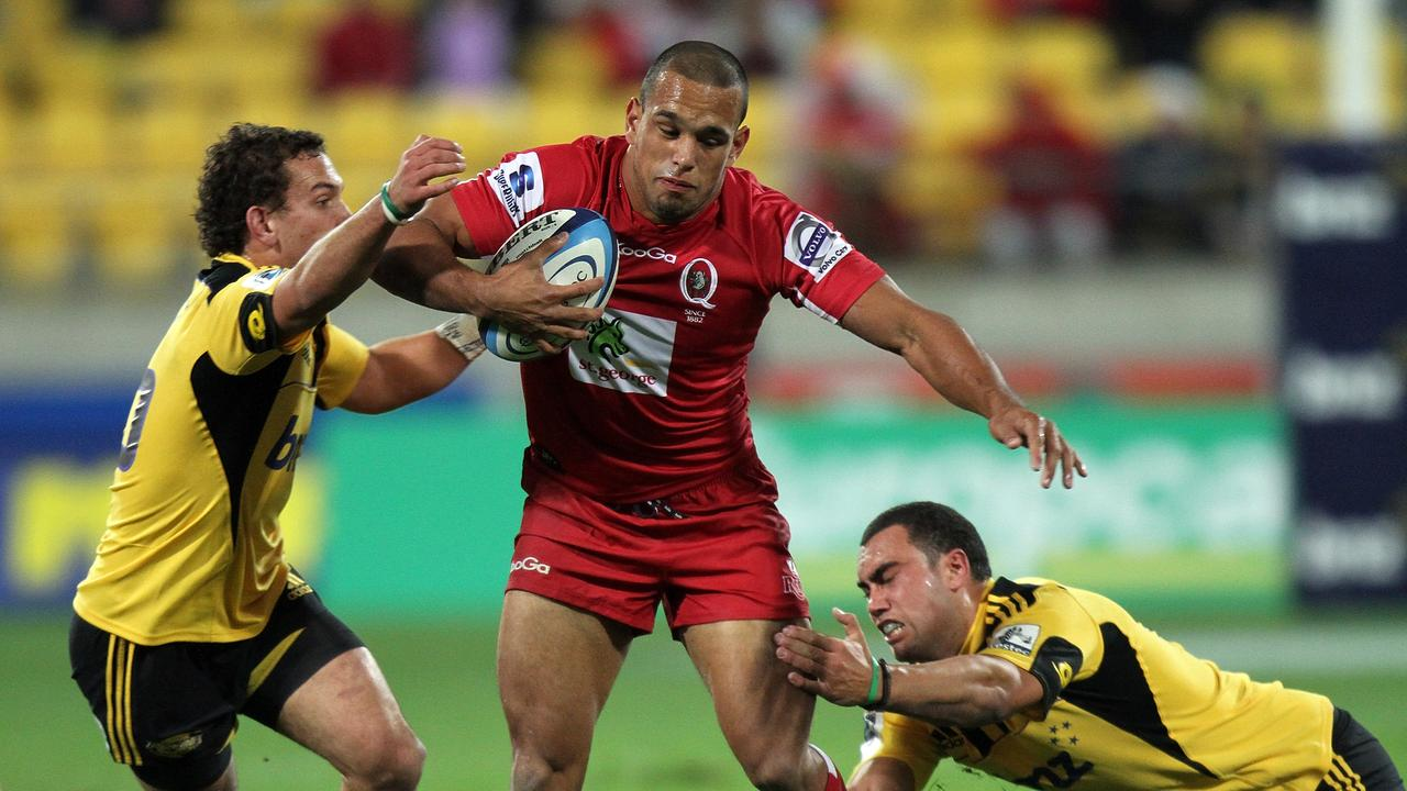 Chambers has had a prior stint in rugby with the Queensland Reds. Picture: Marty Melville