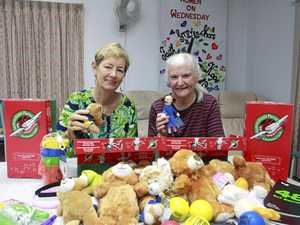 Packing Christmas love and joy in a shoebox full of hope