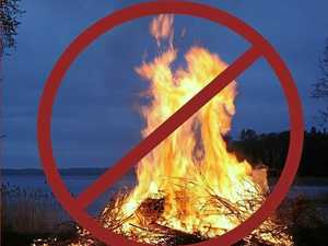 Fire ban bites back