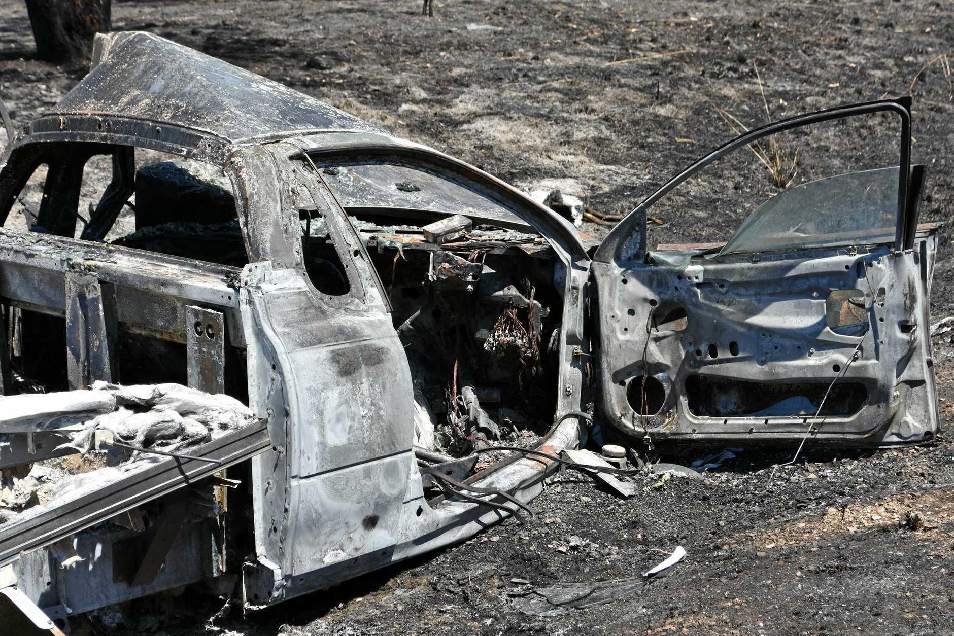 A horror head-on crash on the Wide Bay Highway, near Kilkivan on Friday morning.