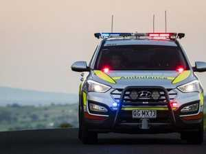 Three treated after two-car crash on Capricorn Highway
