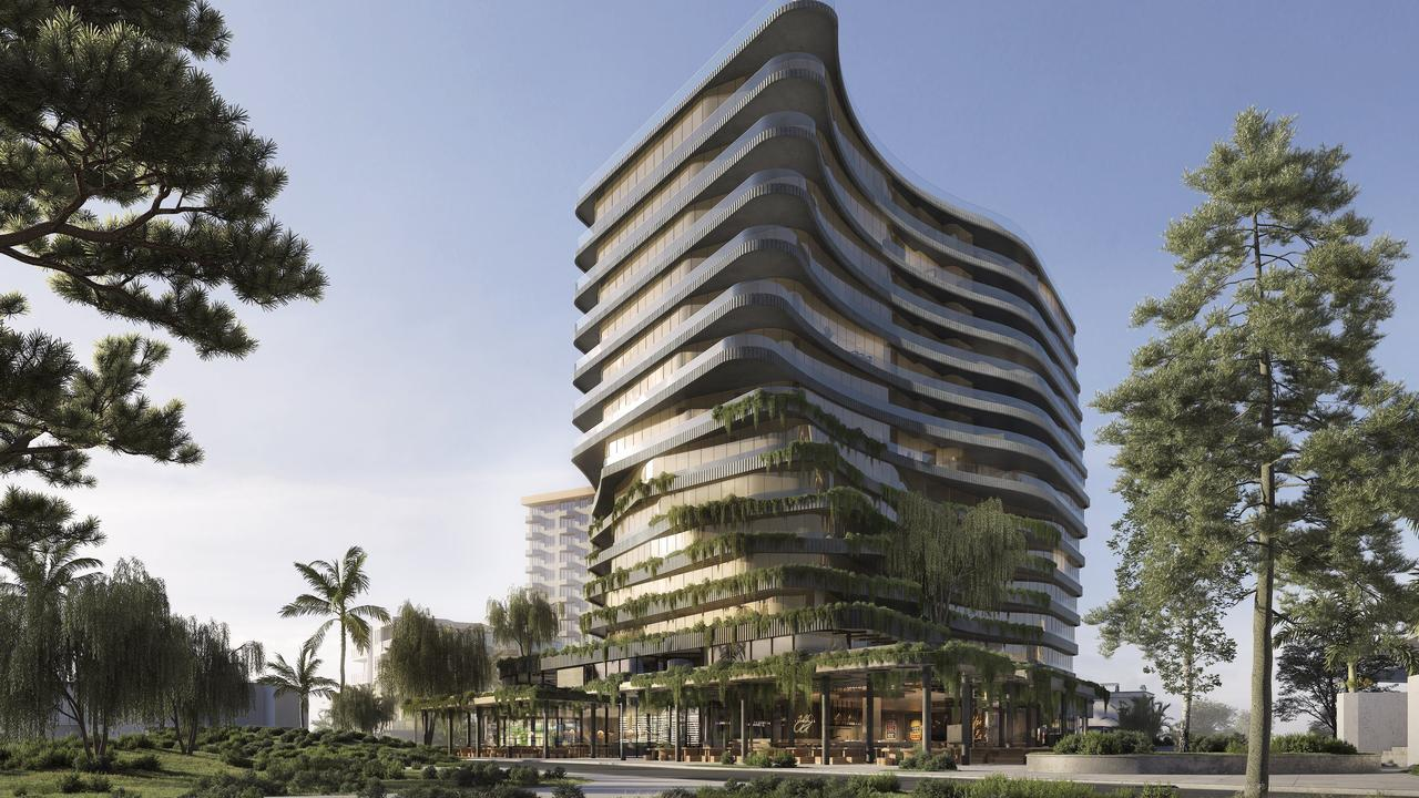 VISION: The new $250 million Aria development proposed to transform Mooloolaba.