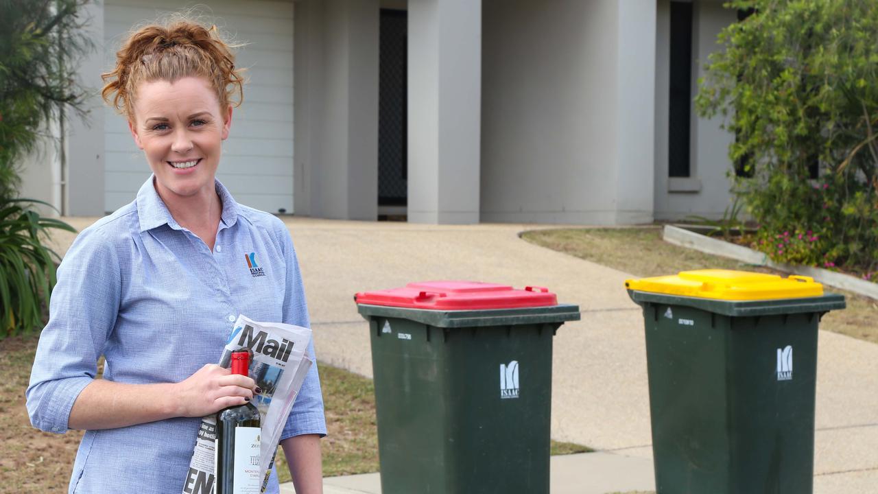 Isaac Regional Council waste management team member Sara Sheridan. Photo: Contributed