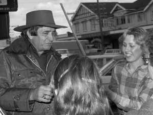 'Good grief': The day Johnny Cash came to town