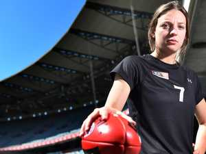 'My leg just would have snapped': Tahlia' AFLW draft hope