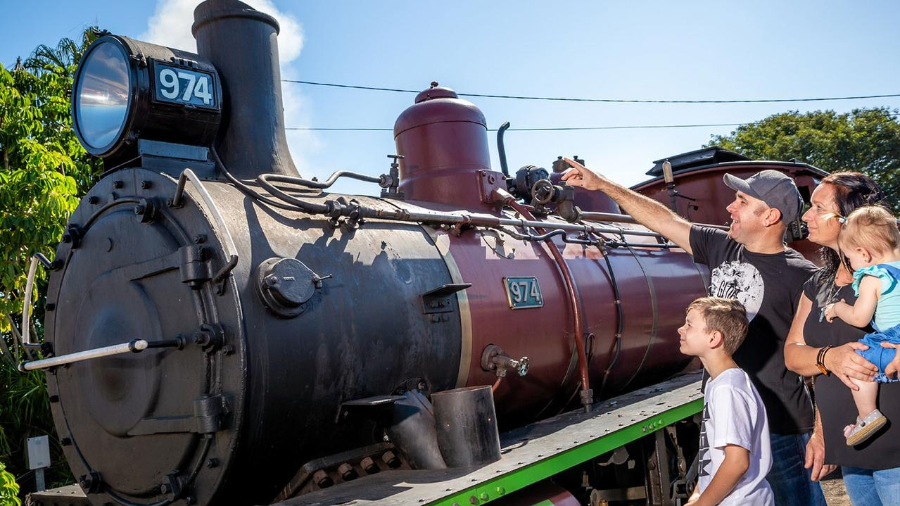 The Mary Valley Rattler is celebrating the first anniversary of the heritage rail experience's return to the tracks. Picture: Contributed