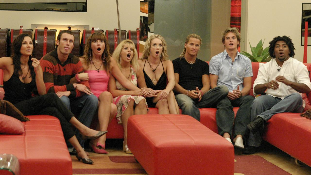 The Big Brother house in 2004.