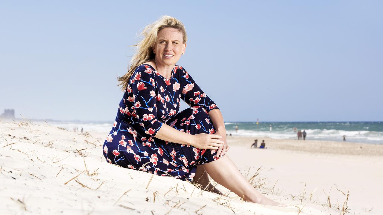 Minister Kate Jones talks about her personal battle during her younger days and body image. Picture: NIGEL HALLETT