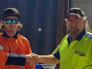 Apprenticeship scheme helps tradie into work