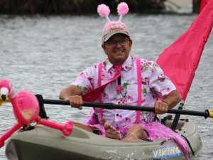 Countdown to Noosa's paddle in pink