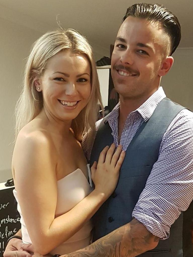 Matt Hills and his girlfriend Jacqui. Photo Supplied Facebook