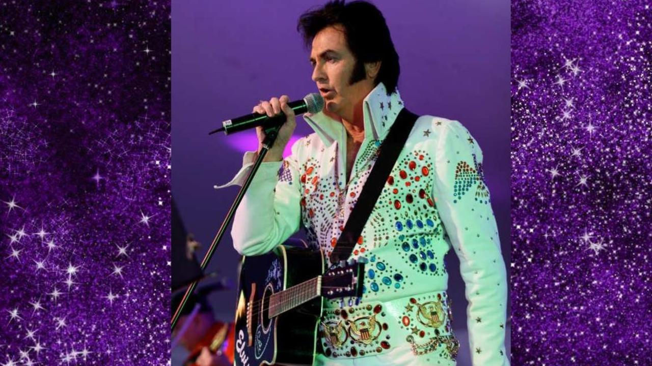 The Pete Memphis Tribute To Elvis is coming to the Nambour RSL. Picture: Contributed