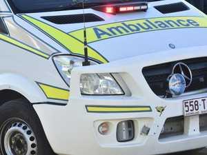 Woman injured in car, bike crash at major roundabout
