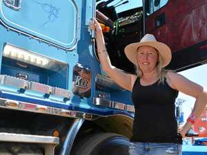 PHOTOS: Truck convoy descends on Lockyer Valley town