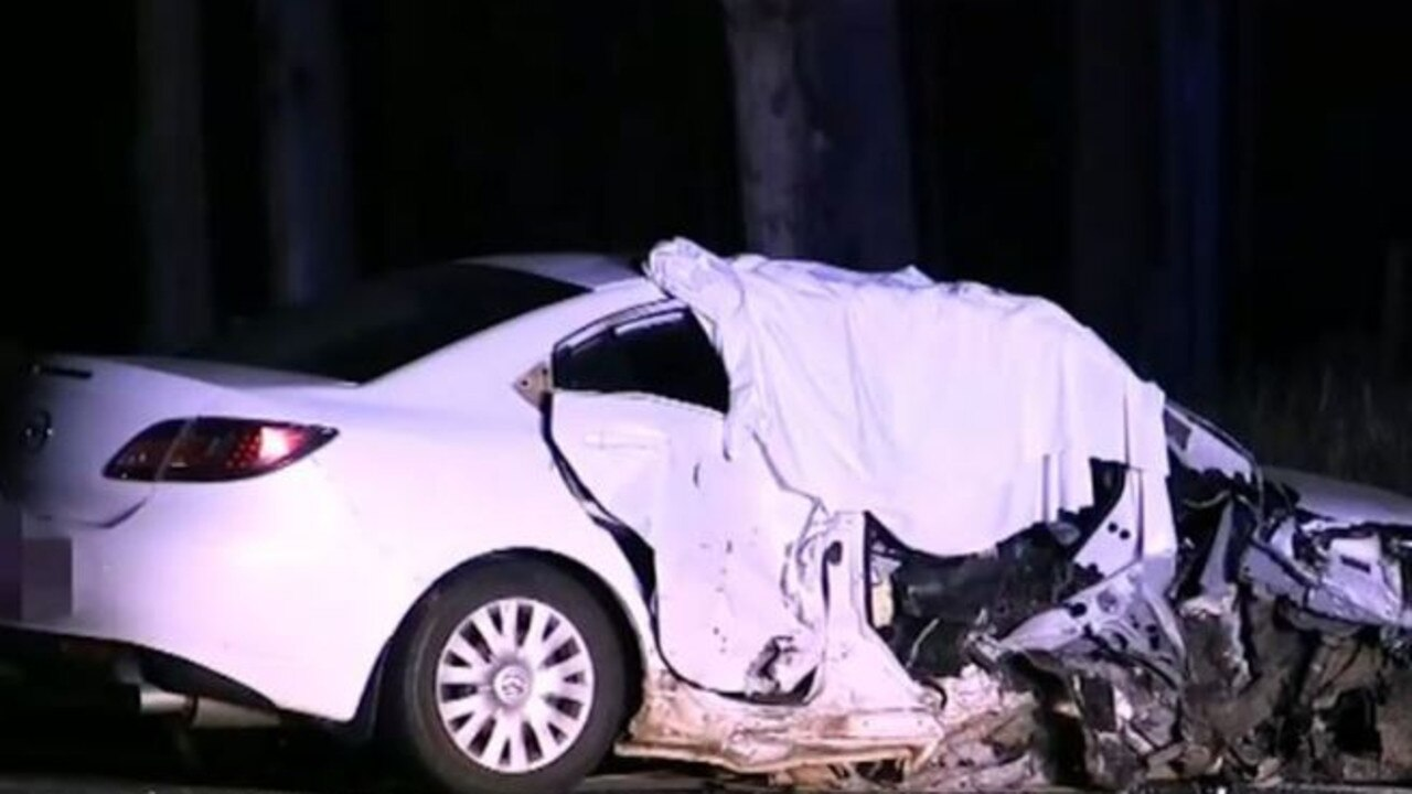 A woman is dead and three others are injured after a head-on collision on the Pacific Highway in northern NSW.