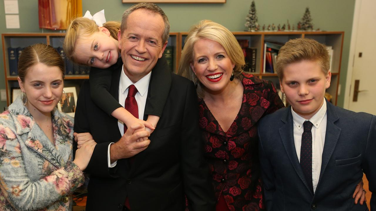 Shorten was quickly aware on election night that that Labor's 'favouritism' was out the window Picture: Kym Smith