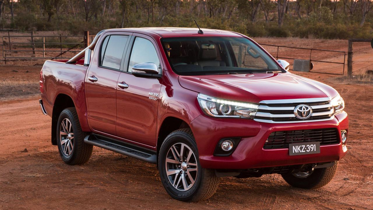 The Toyota HiLux SR5 ute is popular with recreational buyers. Picture: Supplied.
