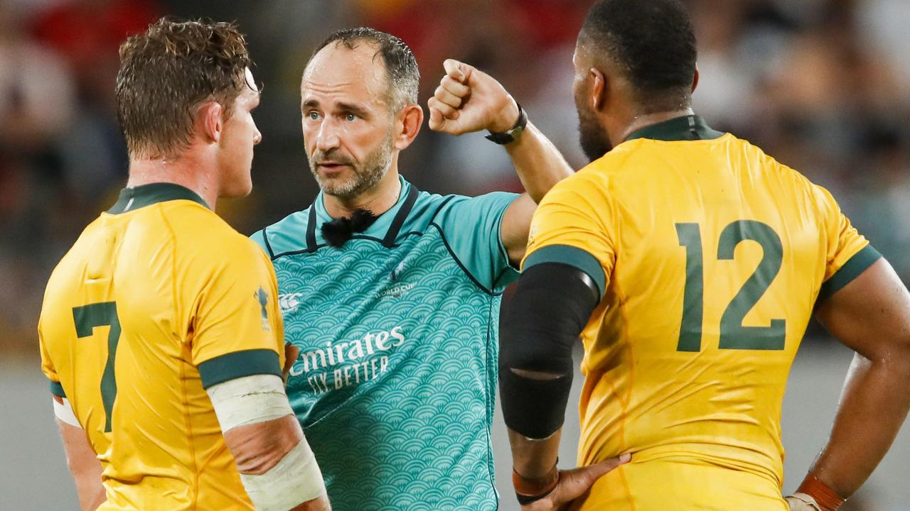 Some of the decisions in the clash against Wales left the Wallabies perplexed.