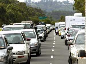 Holiday traffic creates snail-paced mayhem on hwy