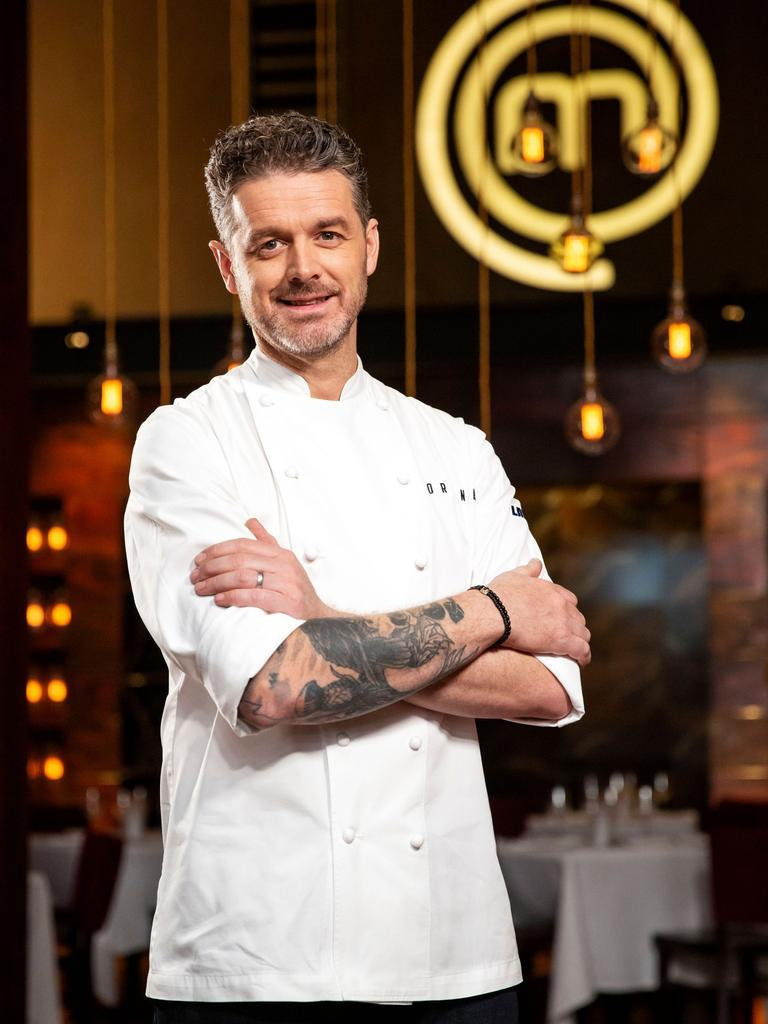 Celebrity chef Jock Zonfrillo on MasterChef. Picture: Supplied