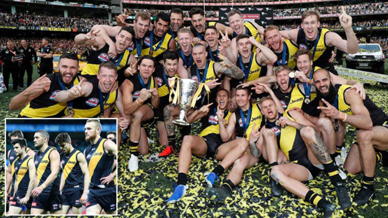 Richmond in 2019 after winning a second flag in three years and the Tigers in 2016.