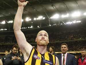 How Roughy said goodbye to Hawks