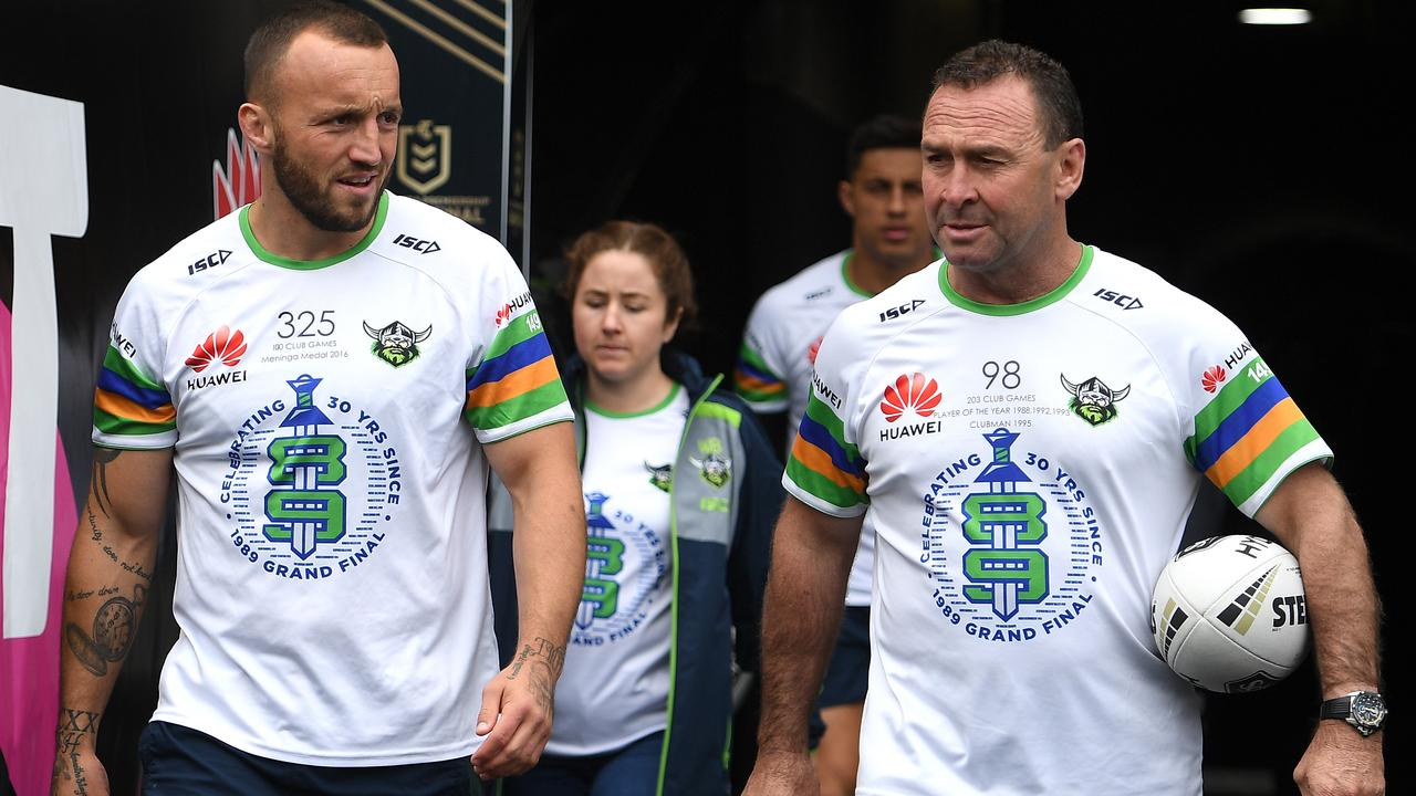 Josh Hodgson is clear for Ricky Stuart's Green Machine. Photo: AAP Image/Dan Himbrechts