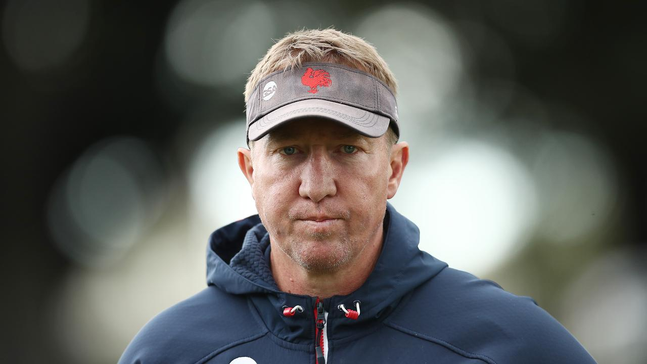 Trent Robinson is turning into a modern day great as he eyes a third title with the Roosters. Picture: Getty