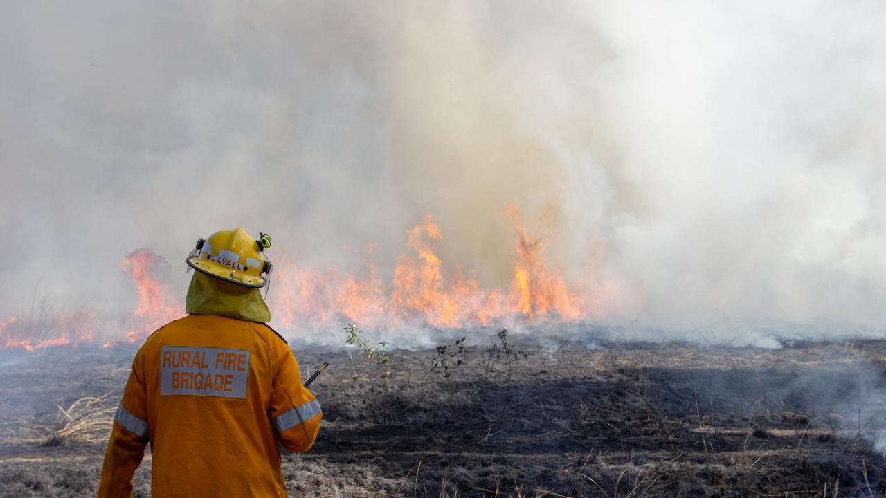 Queensland Rural Fire Service has been preparing for the dry weather this week.