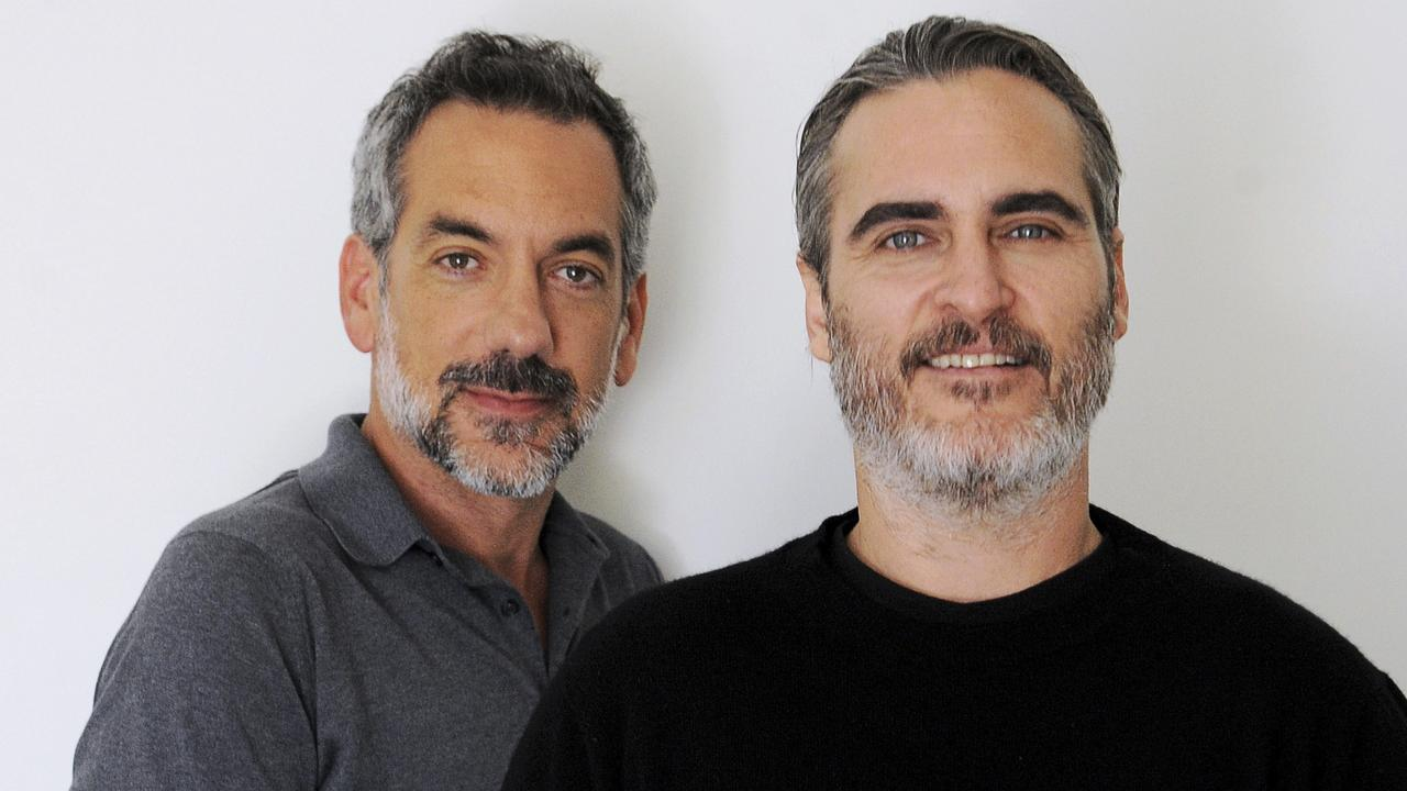 Director Todd Phillips and star Joaquin Phoenix have had to play defence in promoting Joker Picture: Richard Hartog
