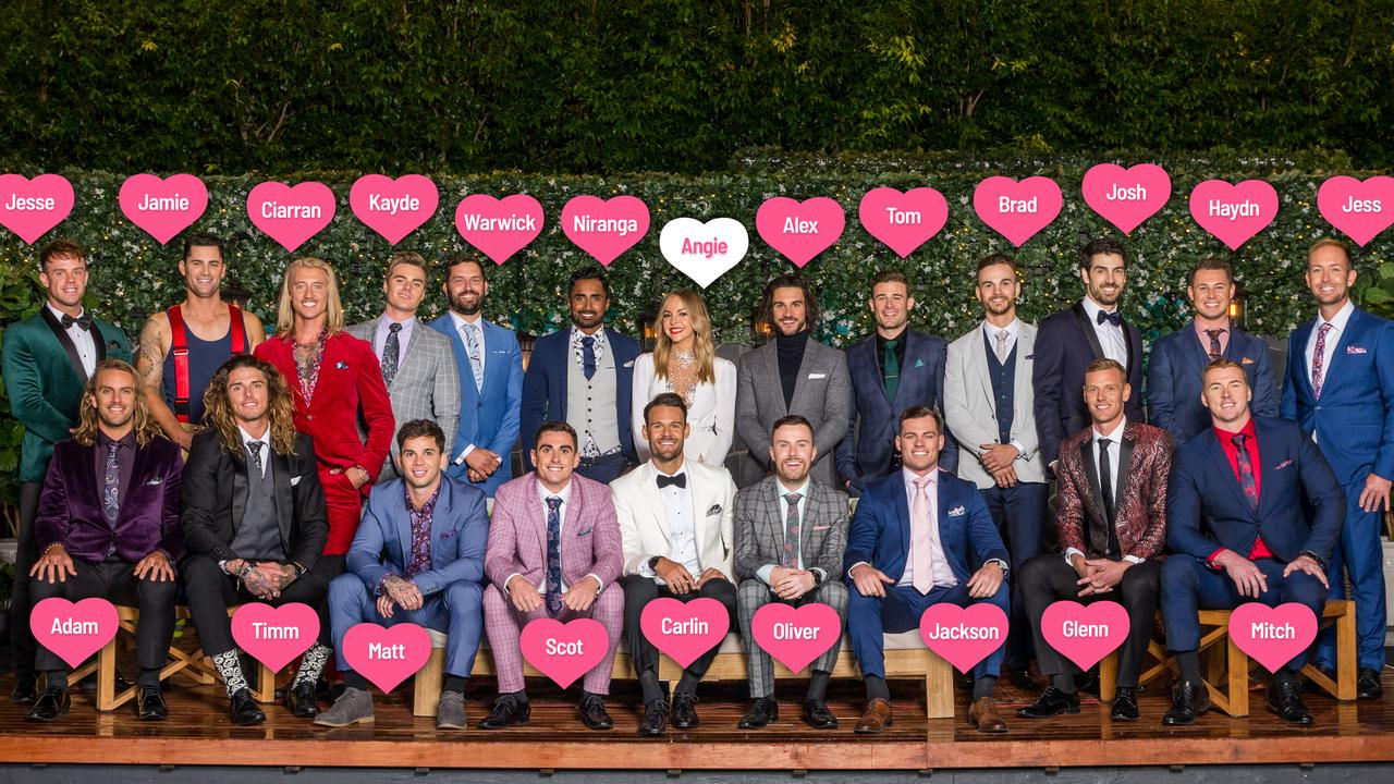Meet the women vying for Angie Kent's heart on The Bachelorette.