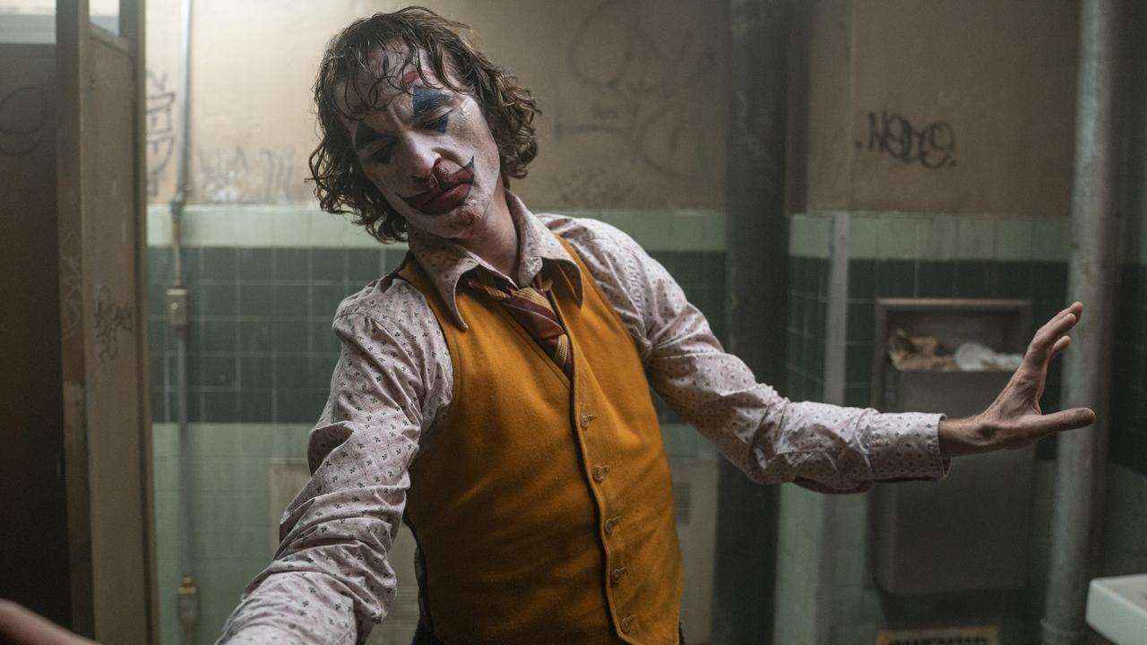 Police departments across the US has been monitoring Joker screenings Picture: Niko Tavernise/Warner Bros.