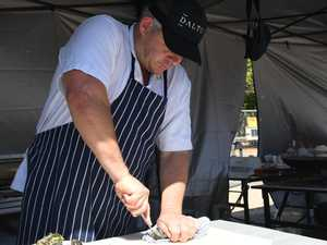 Residents shuck together for love of oysters
