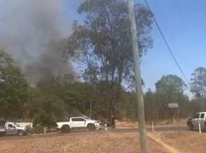 Mount Morgan bushfire 1