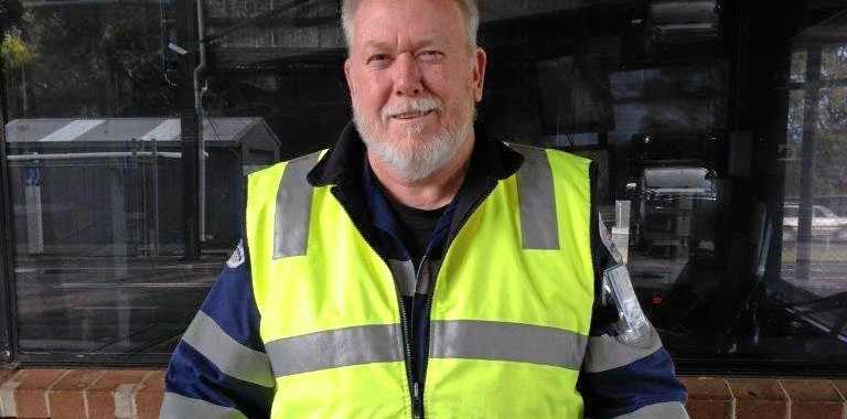 SHIFT OVER: John Lievore, a heavy vehicle inspector, calls time on a legendary stretch.