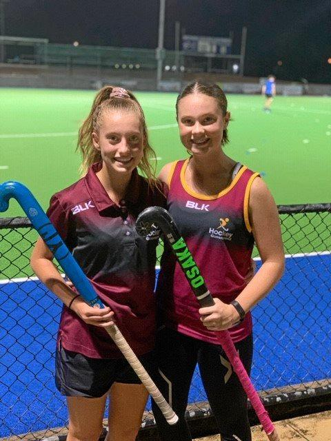 Queensland under-13 and indoor hockey players Lile Lenaghan and Hayley Petersen are  part of Swifts' A-Grade plans for the new hockey season.