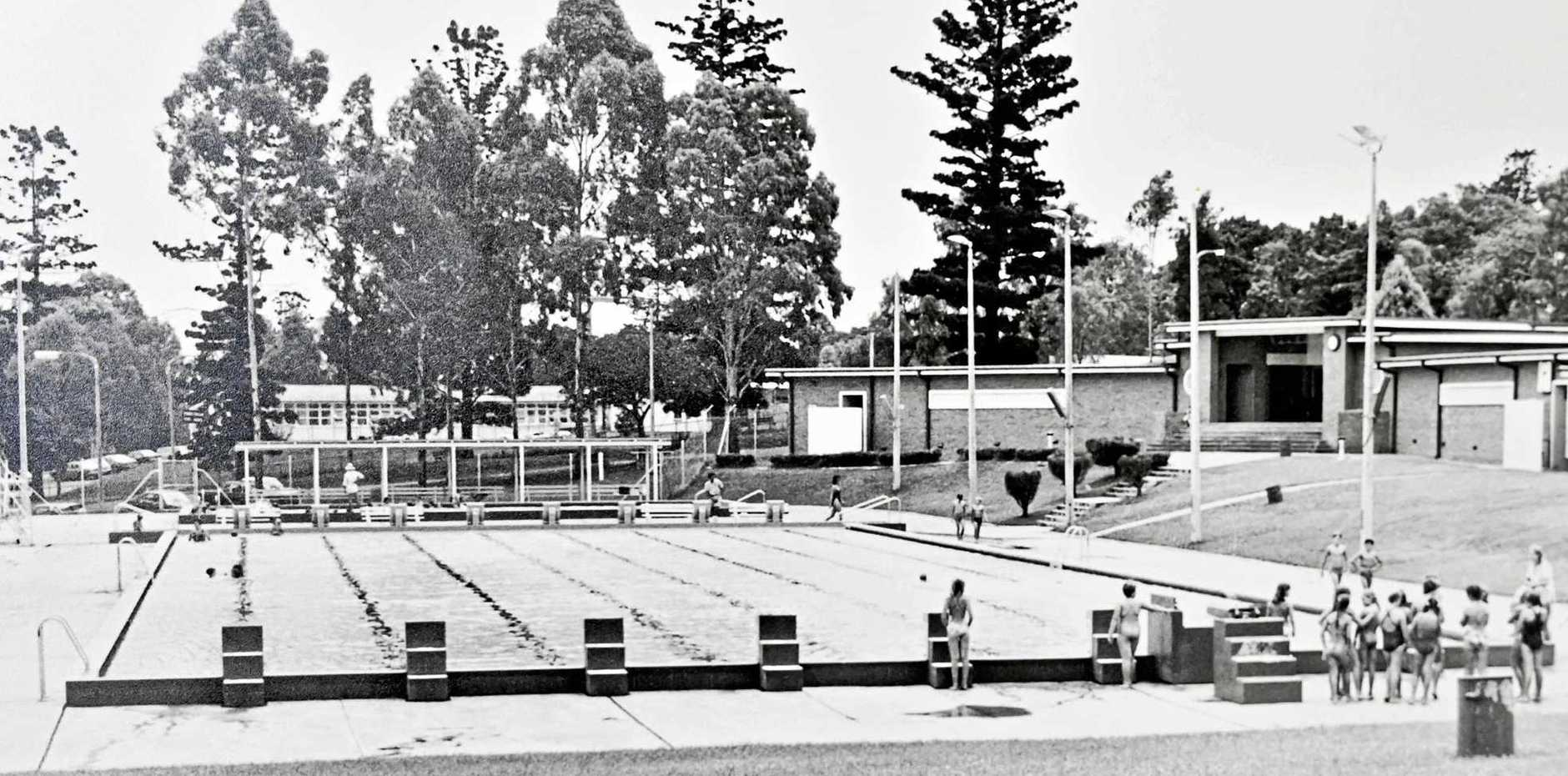 The former Jim Gardiner Pool at Limestone Park.