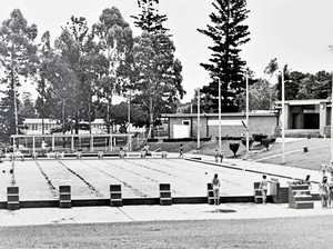 Remember this? Ipswich's father of swimming and a leaky pool