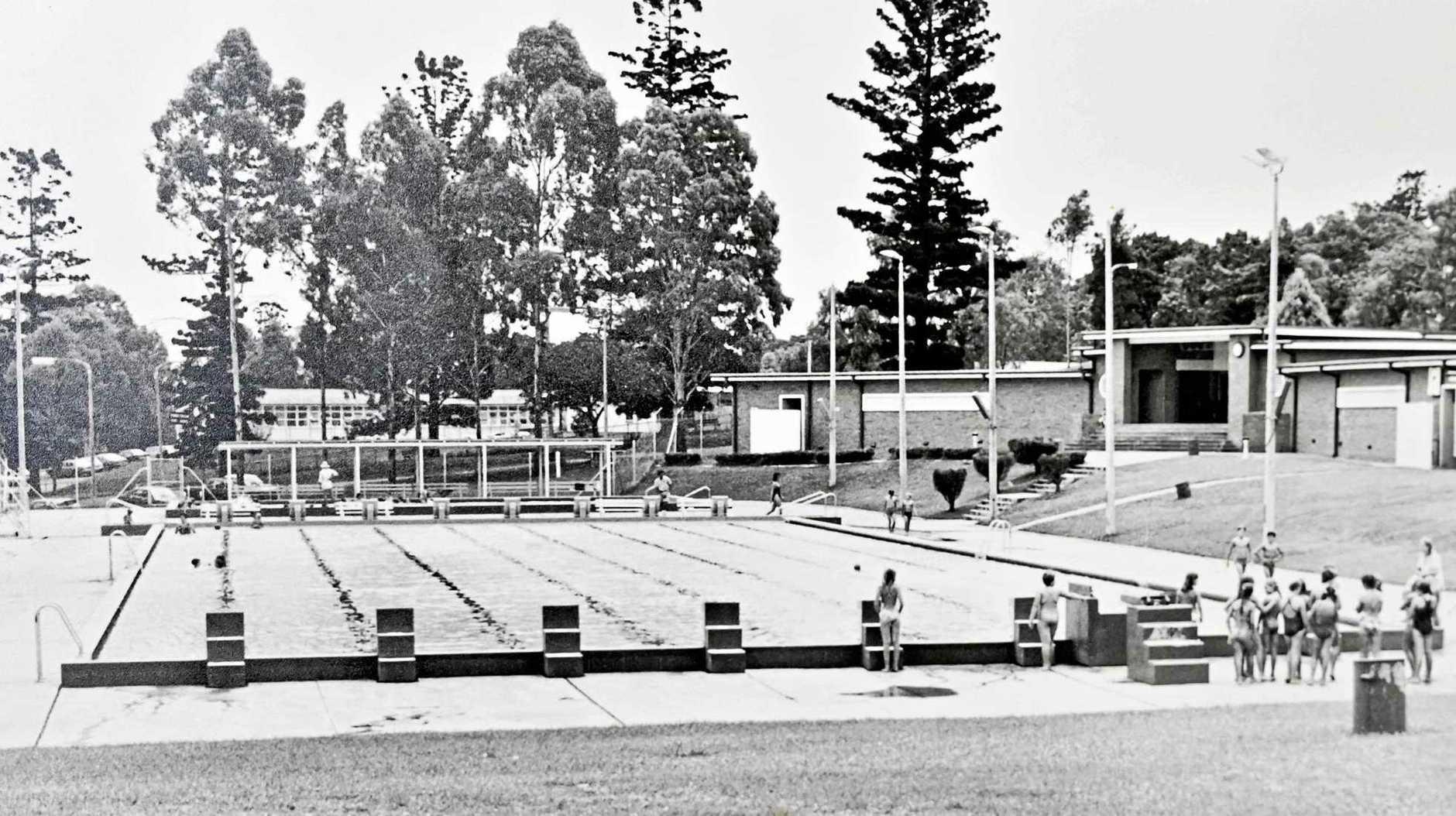 The former Jim Gardiner Pool at Limestone Park.