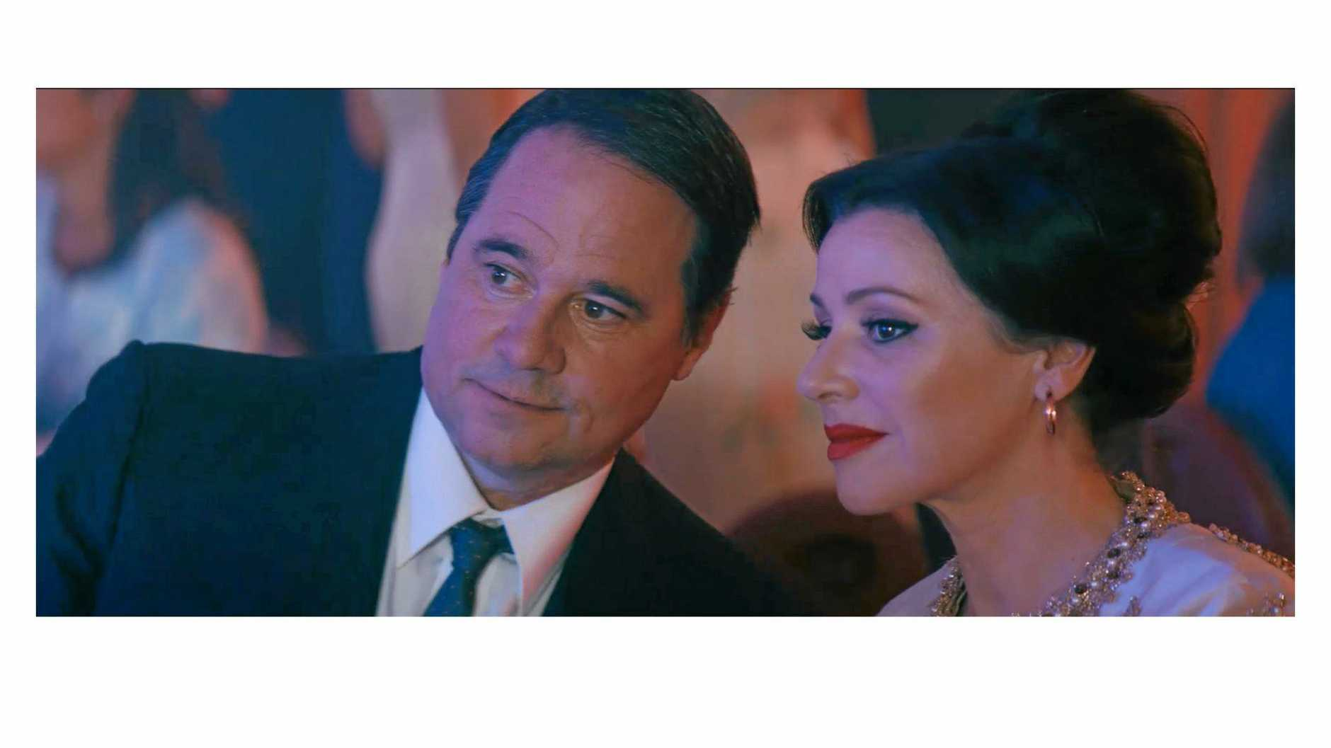 Tina Arena and Paul Mercurio in a scene from the movie Promised, screening at the Italian Film Festival. (supplied by Kathryn McGowan)
