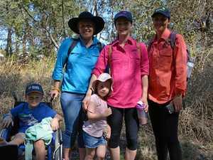 South Burnett Women in Workshirts walk