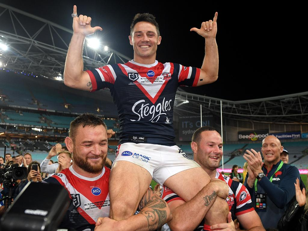 Cooper Cronk got the perfect farewell.
