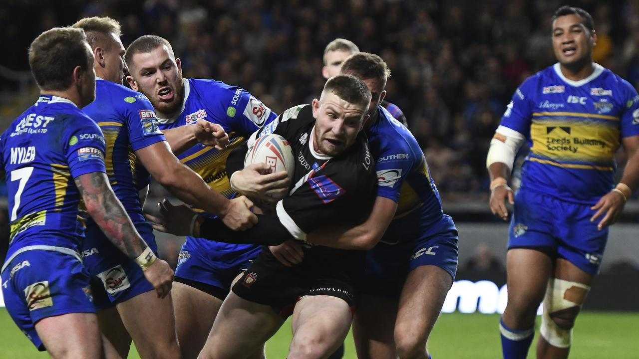 Jackson Hastings was named Super League's Man of Steel. Picture: George Wood/Getty